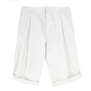 Ute Ploier Off-white Chino Shorts