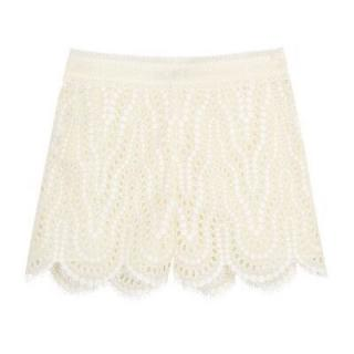 Valentino Broderie Anglaise Shorts