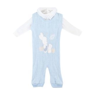 Daniel Abesso Baby Blue Knit Jumper