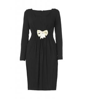 Alice by Temperley black Marilyn dress with bow