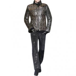 Roberto Cavalli Python Skin tattoo jacket
