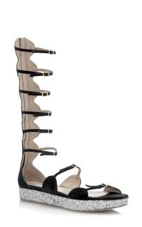 Giambattista Valli Runway collection gladiator sandals