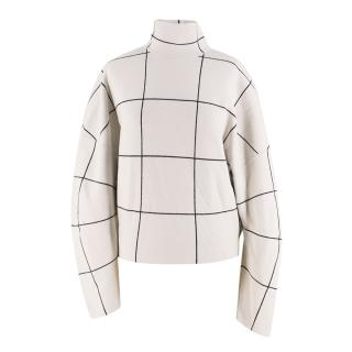 Tod's Oversized Turtleneck Wool Sweater