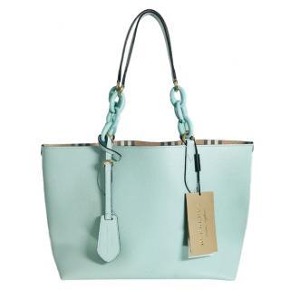 Burberry Haymarket Medium Reversible Tote Bag
