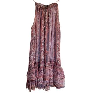 Isabel Marant Silk Paisley Dress