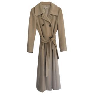 Marella Cashmere Beige Coat