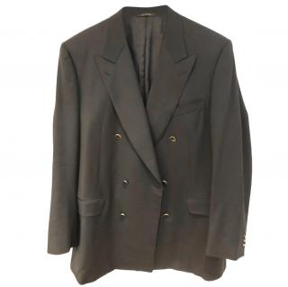 Lanvin Men's Double Breasted Wool Blazer
