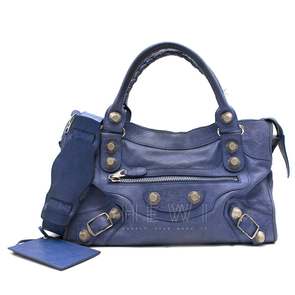 Balenciaga Classic Blue City Bag