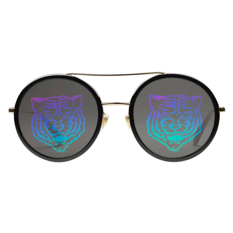 Gucci Round Tiger Sunglasses - Current Season