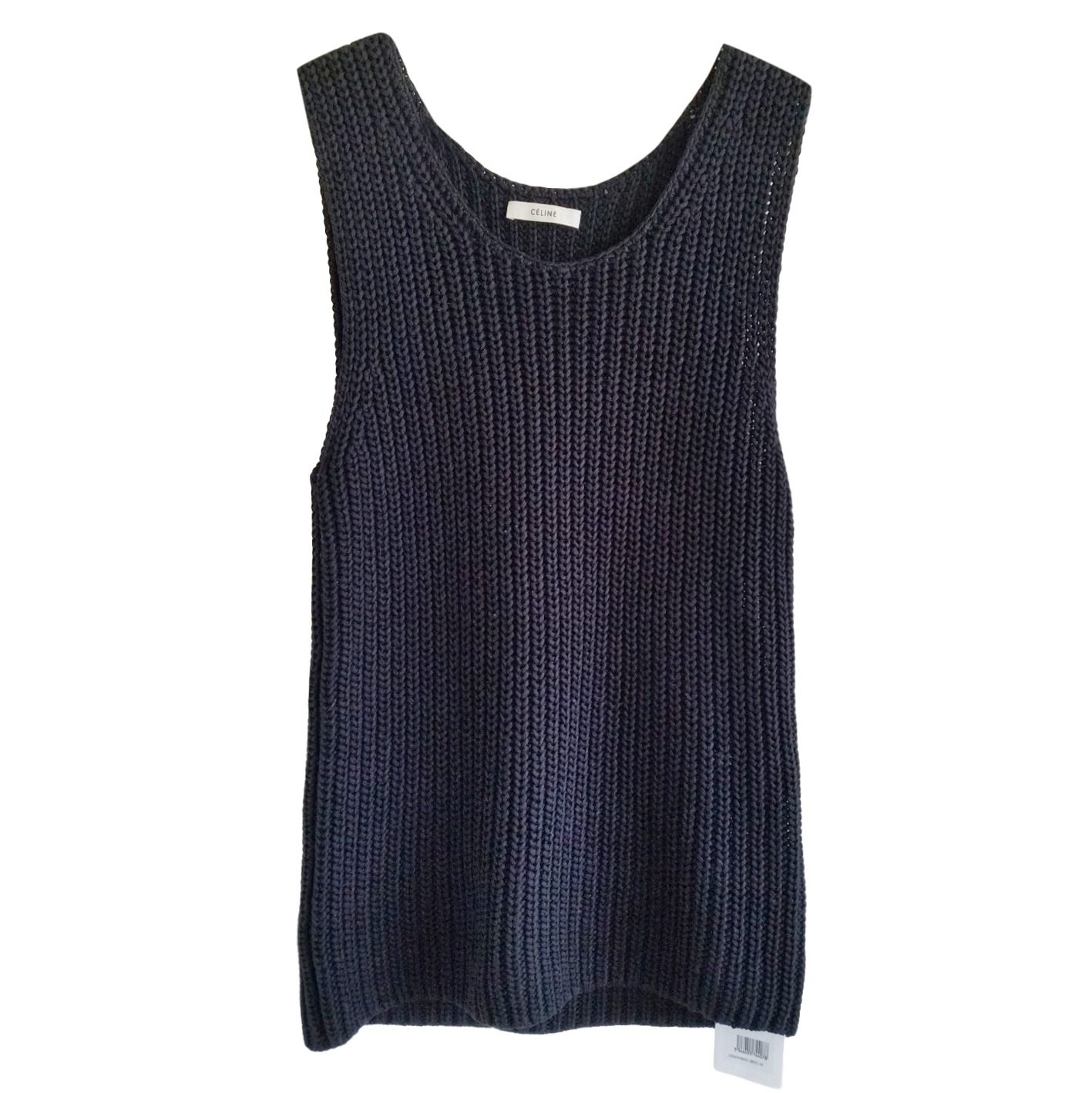 2d6c7224295 Celine By Phoebe Philo Ribbed Knit Sleeveless Top | HEWI London