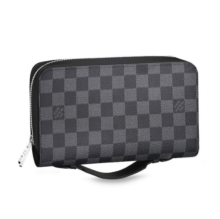 282d018078a1 Louis Vuitton Damier Graphite Canvas Zippy Xl Wallet
