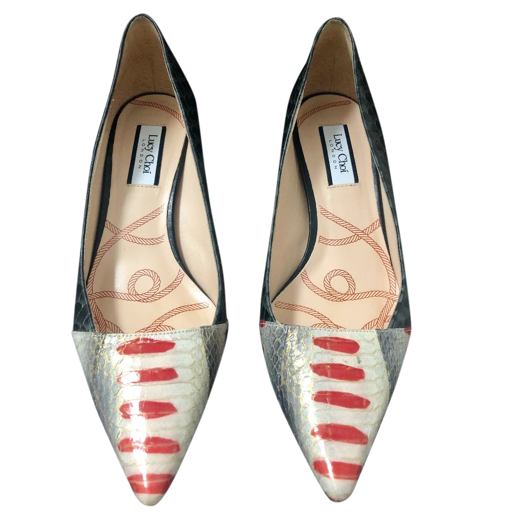 Lucy Choi Multicoloured Pumps