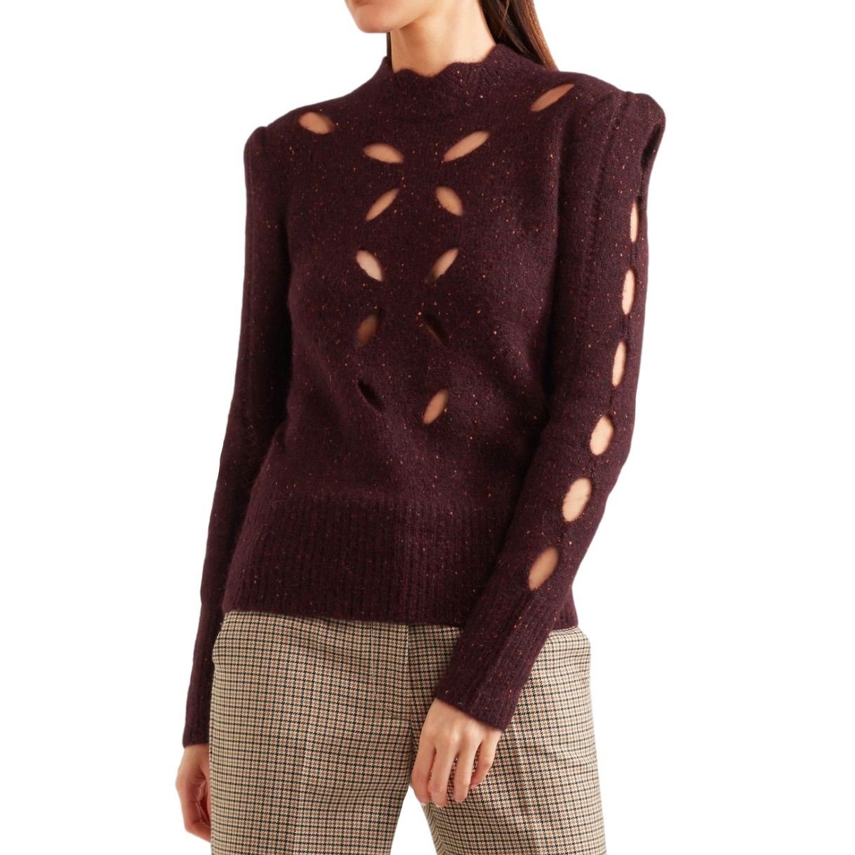 Isabel Marant's 'Elea' Cut Out Knitted Sweater