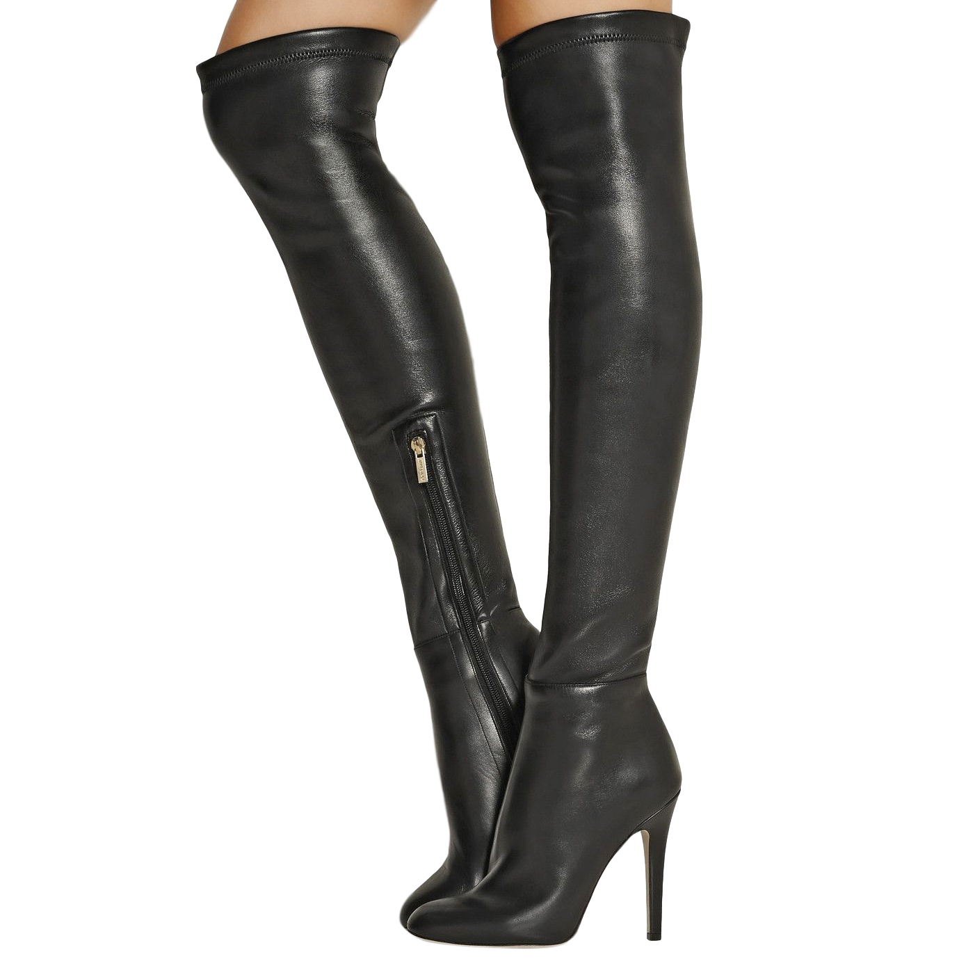 de52c34addb Jimmy Choo Turner Stretch Leather Over The Knee Boots