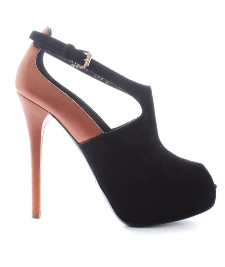 Ralph Lauren Collection 'Jemah' Two-Tone Sandals