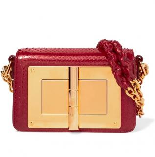 Tom Ford Natalia Python Shoulder Bag