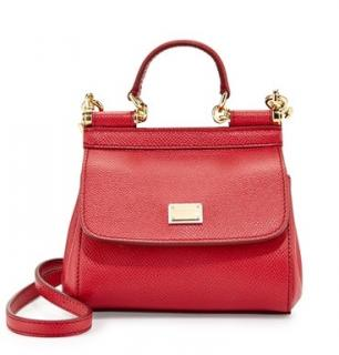 Dolce & Gabbana Mini Miss Sicily Crossbody Bag