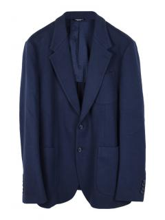 Dolce & Gabbana regular fit cotton jacket