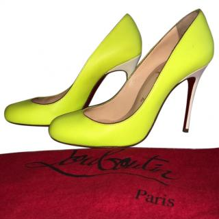 Christian Louboutin Fluo Neon pumps