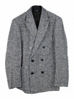 Issey Miyake Men 's Chenille yarn regular blazer