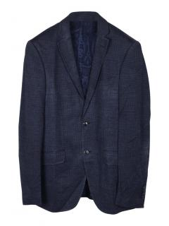 Etro New Jersey regular fit wool and silk jacket