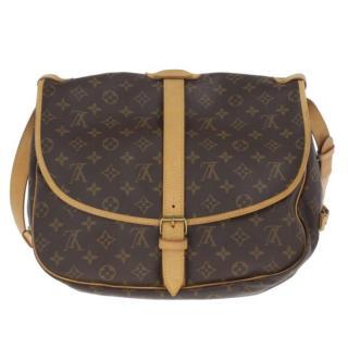 Louis Vuitton Saumur 35 Brown Monogram Shoulder Bag
