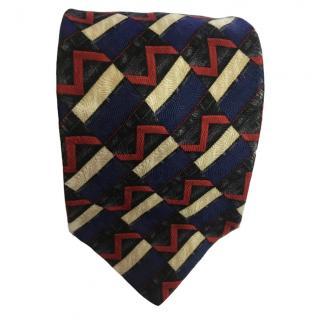YSL vintage silk tie
