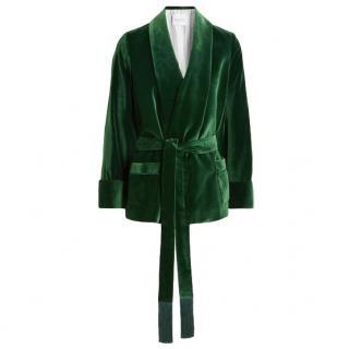 Racil Green Velvet Jacket