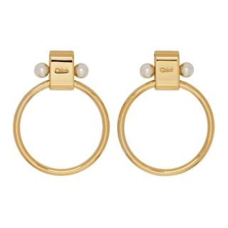 Chlo� Gold Darcy Earrings