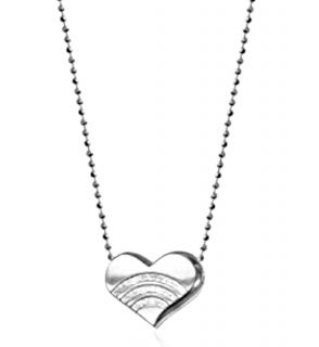 Alex Woo Rainbow Heart Necklace