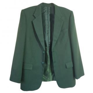 Trussardi green blazer