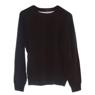 Alexander wang sheer back Angora sweater