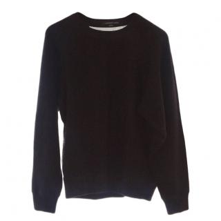 Alexander wang sheer back Angora sweater