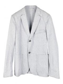 Jil Sander slim fit cotton blend blazer