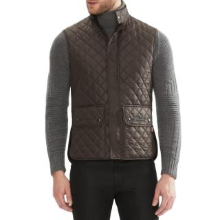Belstaff The Waistcoat in Technical Quilt