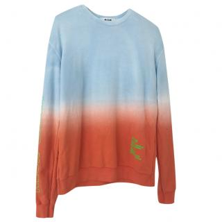 MSGM neon sweatshirt