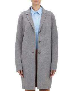 Acne Studios Grey Wool & Cashmere Blend Elsa Double Coat