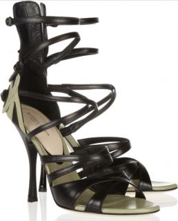 Bottega Veneta Appliqued Leather Sandals