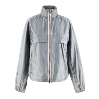 Prada Grey Technical Fabric Lightweight Jacket
