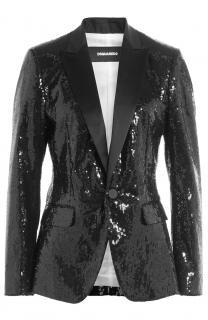 Dsquared2 silk sequin suit jacket