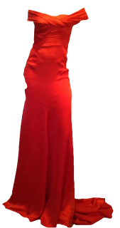 Emilio Pucci Red Silk Gown