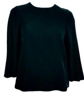 Valentino Cape style Silk Top