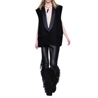 Isabel Marant oversized tuxedo vest