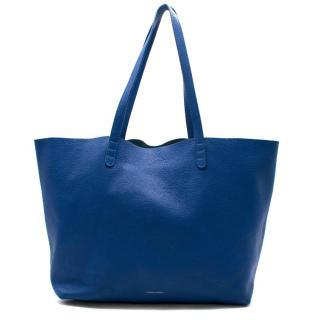 Mansur Gavriel Blue Oversized Tote Bag