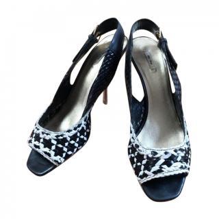 Miu Miu Intreciatto Sandals
