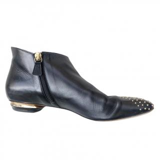 Nicholas Kirkwood Studded Ankle Boots