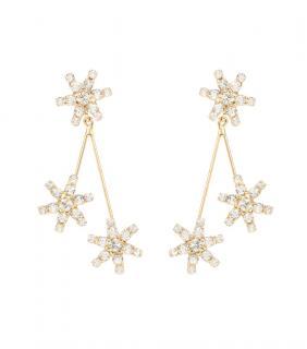 Jennifer Behr Star Droplet Earrings