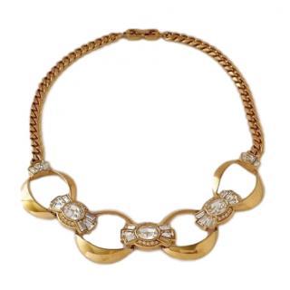 Givenchy Swarovski Embellished Necklace