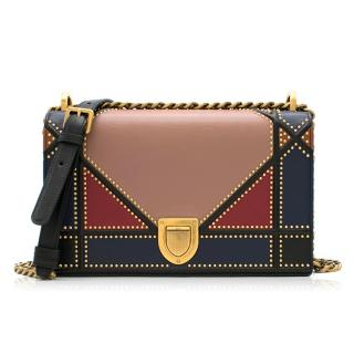 Christian Dior Multi-coloured Patchwork Diorama Bag - New Season