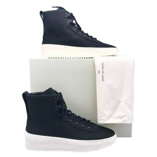 Fear of God leather high trainers